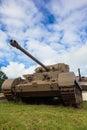 Oxidação da segunda guerra mundial dos tanques Fotografia de Stock Royalty Free