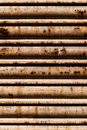 Oxidated metal blind background Royalty Free Stock Image