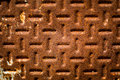Oxidation texture of a oxidized and rust metal surface Stock Photography