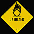 Oxidizer Sign Royalty Free Stock Photography