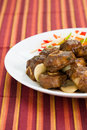 Oxtail Curry Caribbean Style Stock Photo