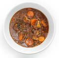 OXtail stew high angle Stock Photography