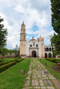 Oxtotipac church and monastery, Mexico Royalty Free Stock Image