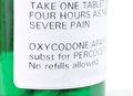Oxycodone Royalty Free Stock Photos