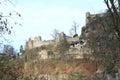 Oybin castle Royalty Free Stock Photo