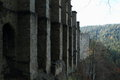 Oybin castle and monastery Royalty Free Stock Photo