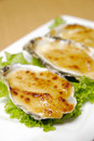 Oyster food Royalty Free Stock Photo