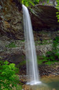 Ozone falls in westel tn usa is a foot m waterfall tennessee Stock Images