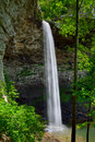 Ozone falls in westel tn usa is a foot m waterfall tennessee Royalty Free Stock Images
