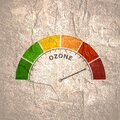Ozone measuring device Royalty Free Stock Photo