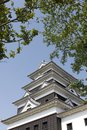 Ozu castle Stock Photo