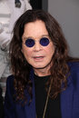 Ozzy osbourne at the total recall los angeles premiere chinese theater hollywood ca Royalty Free Stock Photos