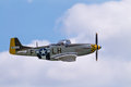 P-51 Mustang World War 2 American fighter aircraft Royalty Free Stock Photo
