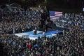 PA: Secretary Hillary Clinton & Senator Tim Kaine Campaign Rally in Philadelphia Royalty Free Stock Photo