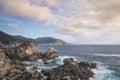 Pacific Coast in Big Sur, California Royalty Free Stock Photo