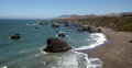 Pacific coast sonoma county california the ocean coastline turns rocky and dramatic in s Stock Photo