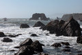 Pacific coast sonoma county california the ocean coastline turns rocky and dramatic in s Royalty Free Stock Images