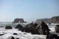 Pacific coast sonoma county california the ocean coastline turns rocky and dramatic in s Stock Photography