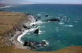 Pacific coast sonoma county california the ocean coastline turns rocky and dramatic in s Stock Images