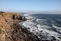 Pacific coast sonoma county california the ocean coastline turns rocky and dramatic in s Royalty Free Stock Photography