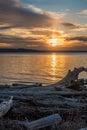 Pacific Northwest Sunset 3 Royalty Free Stock Photo