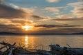Pacific Northwest Sunset 2 Royalty Free Stock Photo