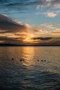 Pacific Northwest Sunset 6 Royalty Free Stock Photo