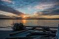 Pacific Northwest Sunset 9 Royalty Free Stock Photo