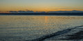 Pacific Northwest Sunset Royalty Free Stock Photo