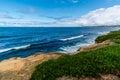 The Pacific Ocean Coastline in California Royalty Free Stock Photo