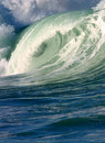 Pacific Ocean Surfing Wave Royalty Free Stock Photo