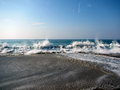 Pacific Wave Royalty Free Stock Photo