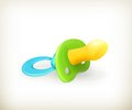 Pacifier icon Stock Photos