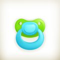 Pacifier, icon Stock Images