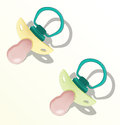 Pacifier_illustration Stock Photos