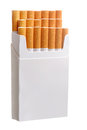 Pack of cigarettes Royalty Free Stock Photo