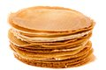 Pack of freshly waffle cookies brightened Royalty Free Stock Photo