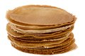 Pack of freshly waffle cookies Royalty Free Stock Photo