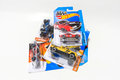 Pack of hot wheels die cast car toy bangkok thailand march carded model for series is a scale cars Stock Photos