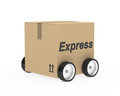 Package express car figure Stock Photography