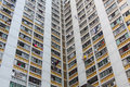 Packed Hong Kong public housing Royalty Free Stock Photography