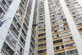Packed Hong Kong public housing Stock Image
