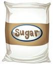 A packet of sugar Royalty Free Stock Photo