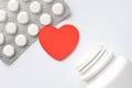Packing of heart pills