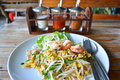 Pad thai fry rice noodle food of thailand southeast asia Royalty Free Stock Photos