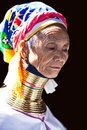Padaung Tribe woman Royalty Free Stock Photo