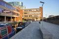Paddington basin in London Royalty Free Stock Photo