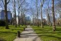 Paddington Green in London Royalty Free Stock Photo
