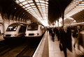 Paddington Station in London Lizenzfreies Stockfoto