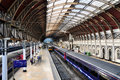 Paddington station, london Stock Image